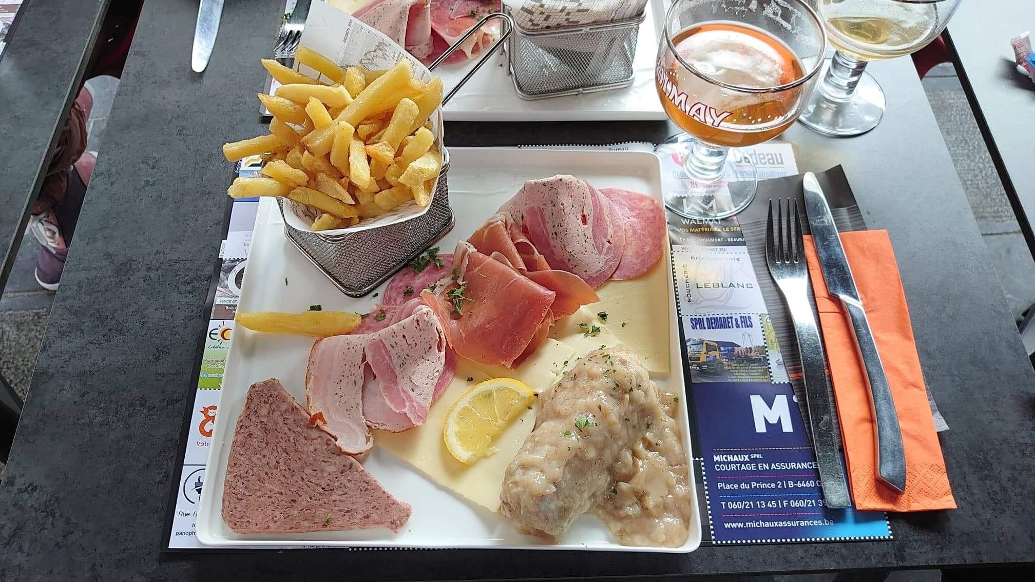 L'assiette Ardennaise...