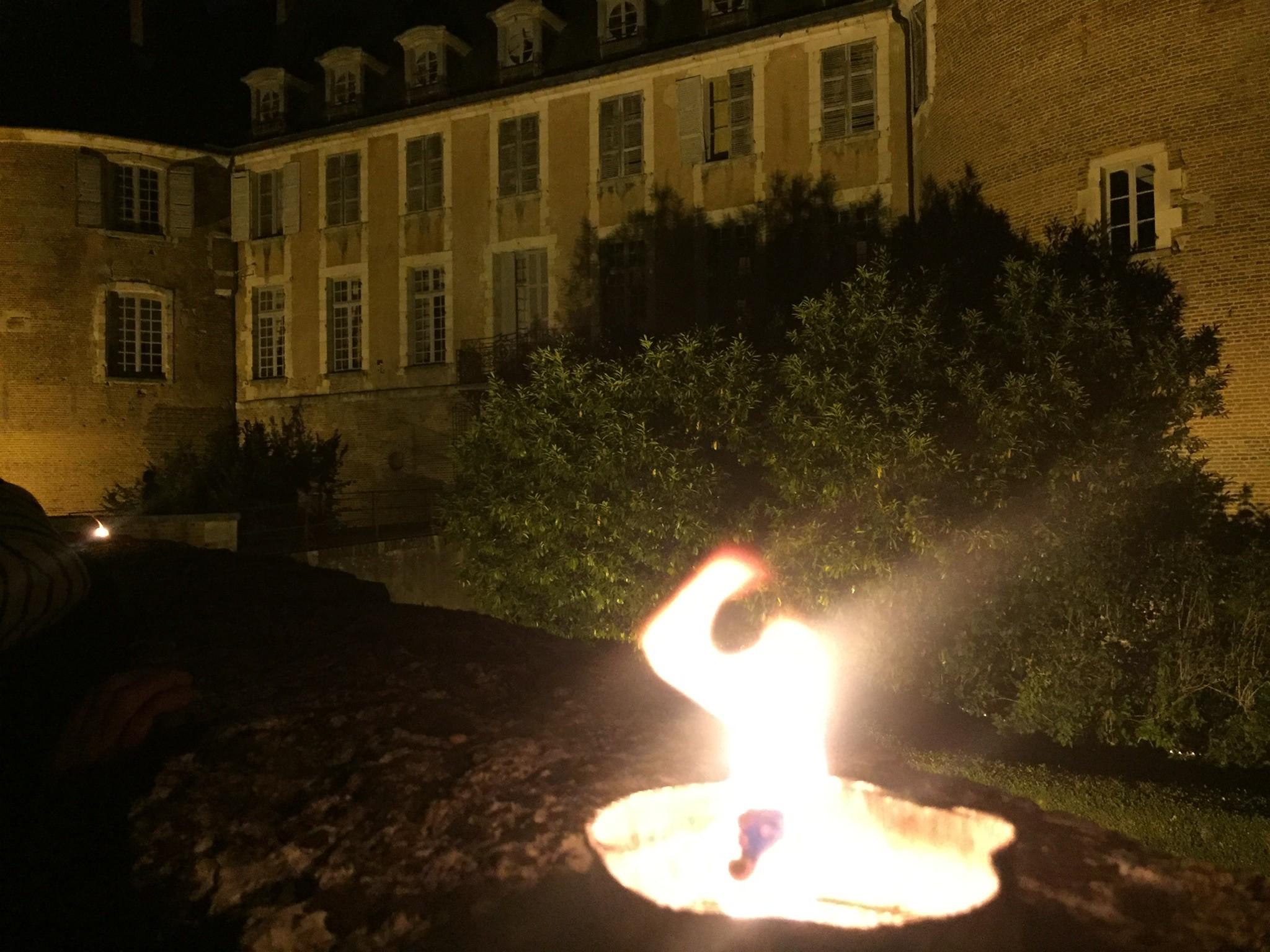 Château de Saint-Fargeau nuit