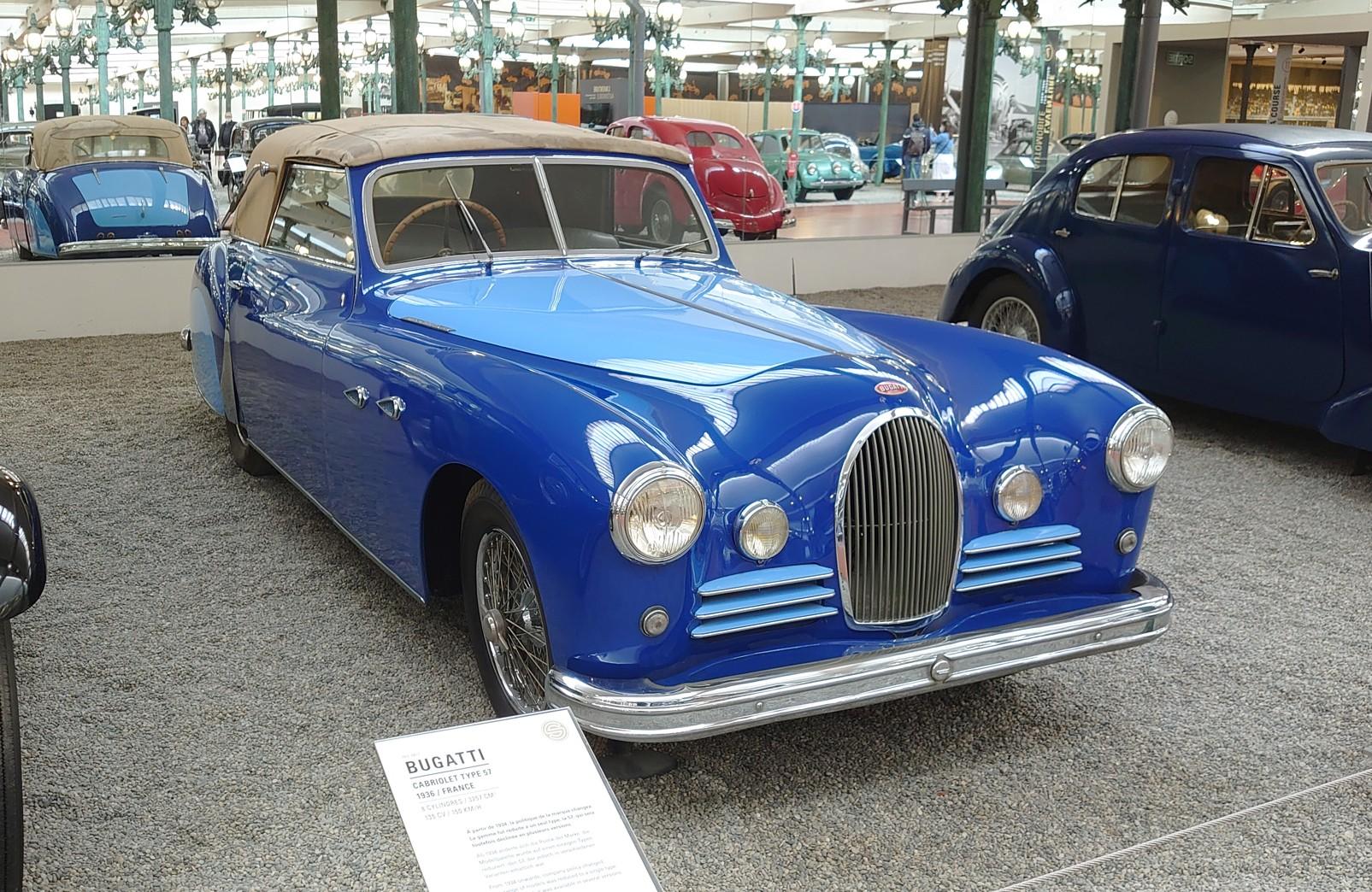 La Bugatti de Mr BERTRAND