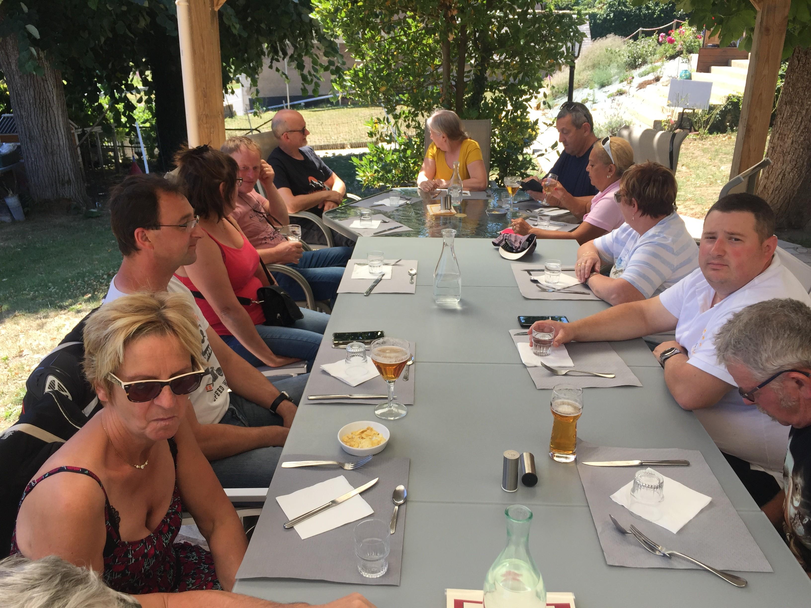 L'étape restaurant à Bannay